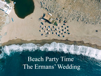 The Ermans' Wedding-Beach Party in Tinos
